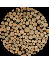 Bois dur en 50 cm MI-SEC CHARBONNETTE (cagette de 1,2 m3 soit 1,5 stères)