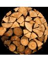 Bois dur en 10-30cm MI-SEC vrac (cagette de 1,2 m3 soit 1,8 stères)